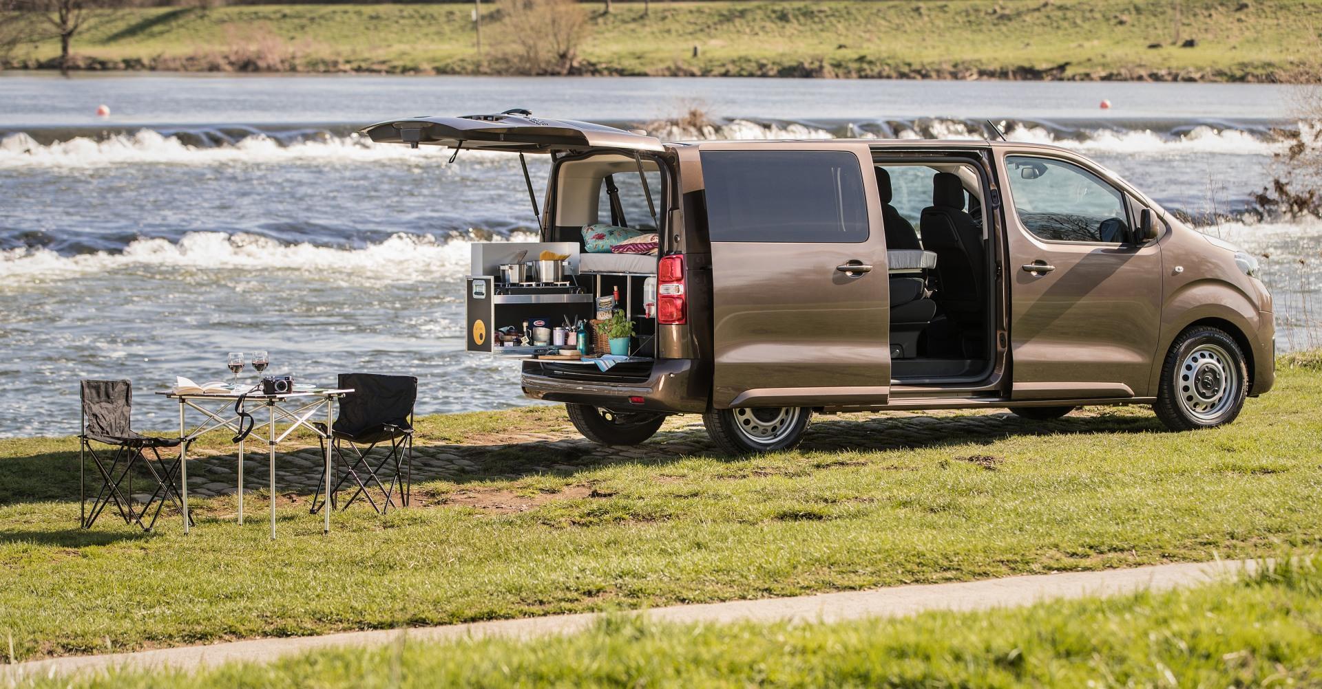 Toyota Proace Verso zum Camping geeignet.