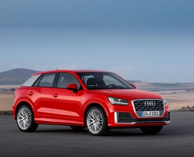 Audi Q2 ist der Kleinste von vier Brüdern – Das Fahrzeug reiht sich perfekt ins SUV-Modellangebot ein