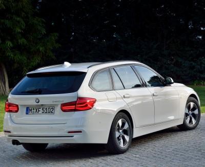 Spitzentechnik unter gediegenem Blech – Überarbeiteter BMW 3er touring bietet noch mehr Fahrspaß
