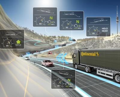 Continental Spritspar-Sensorik immer öfter im Einsatz – Lkw sollen damit seit 2012 über 195 Millionen Liter Diesel eingespart haben