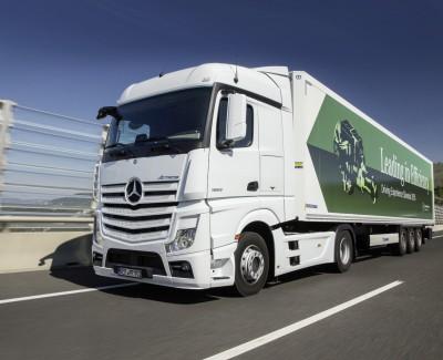Echt effizient im Fernverkehr in Europa – Hoch zu Actros mit dem Mercedes-Benz Motor OM 471