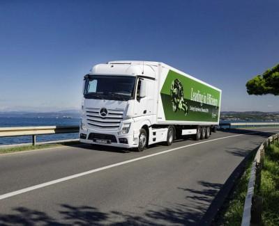 Gallerie: Mit dem Actros von Mercedes-Benz durch Slowenien