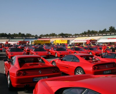 Die Ferrari-Racing-Days 2016 – Das Cavalino Rampante in Aktion
