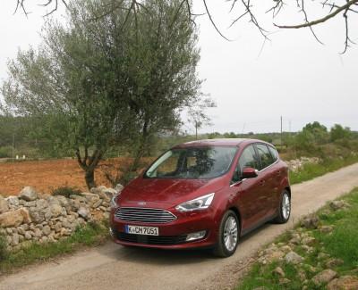 Den C-Max gibt es weiterhin im Doppelpack – Ford hat den Kompaktvan in zwei Versionen überarbeitet