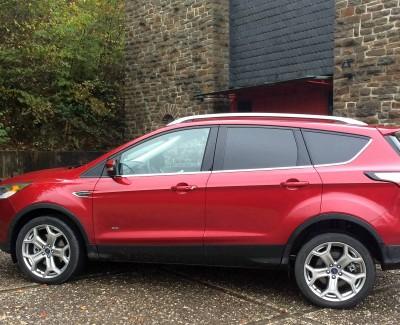 Der Kuga zeigt sich nach seinem Facelift – Den Crossover von Ford gibt es nun auch als Vignale-Version