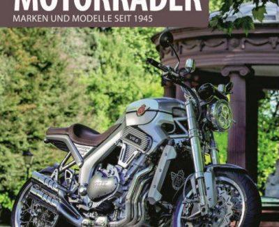 """Detaillierte Kladde mit viel Zweiradliebe zur Geschichte der deutschen Motorräder – Annotation zum Buch """"Deutsche Motorräder – Marken und Modelle seit 1945"""" von Frank Rönicke"""