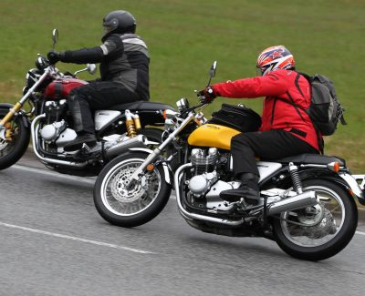 Fotoreportage: Die Honda-Motorrad-Pressetage 2017 im Spessart