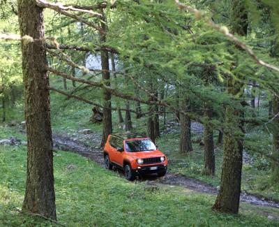 Rumpeln und Rasen mit dem Jeep Renegade