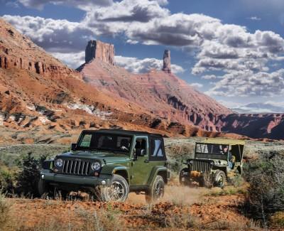 Das Original bleibt originell – Zum 75-jährigen Jeep-Jubiläum gibt es Sondermodelle aller vier Baureihen
