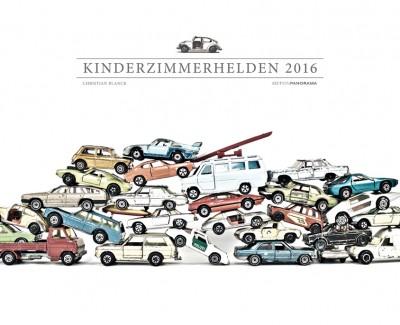"""Gebrauchte Spielzeugautos – Annotation zum Kalender """"Kinderzimmerhelden 2016"""" von Christian Blanck"""