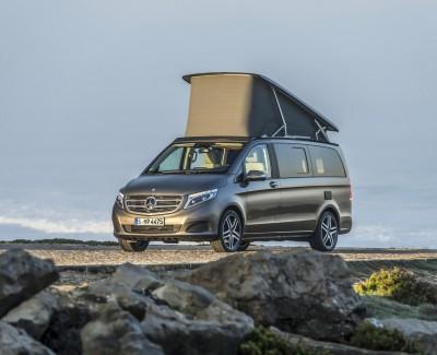"""Den Marco Polo gibt es jetzt auch im AMG-Kleid – Auch 2016 ist der Mercedes-Benz-Camper """"Kompakt-Reisemobil des Jahres"""""""