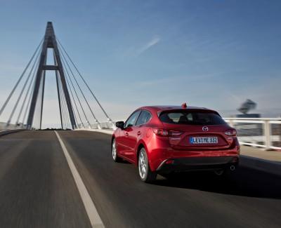 Neuer Diesel-Antrieb für den Mazda3 – Der 1,5-Liter-Skyactiv-Motor arbeitet kultiviert und leise
