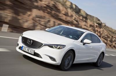 Der Mazda6 erhielt einen Feinschliff – Das Fahrzeug wurde vor allem technisch weiter aufgewertet