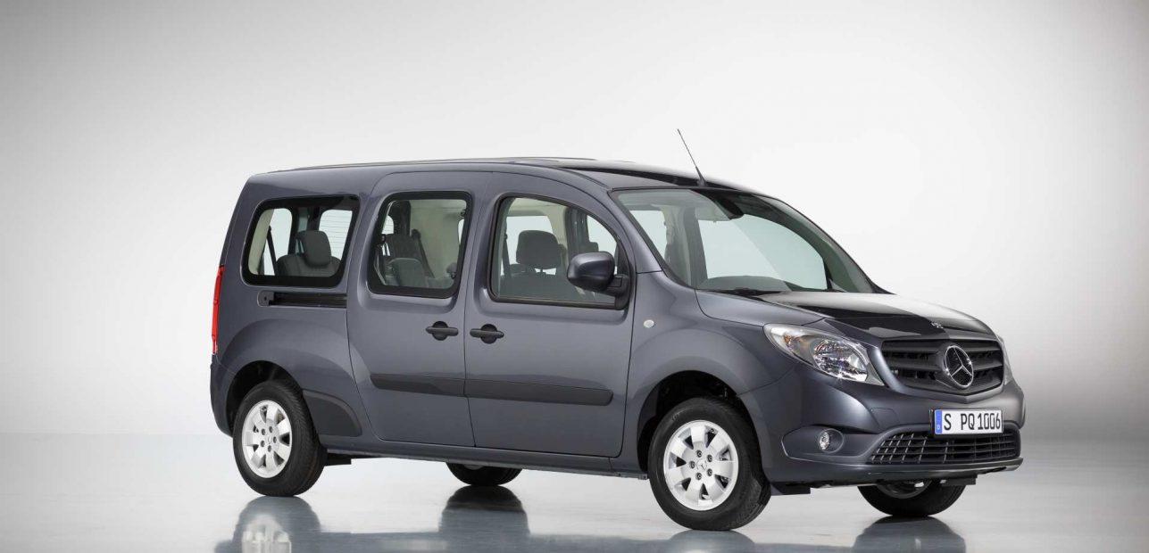 Der Citan-Benziner steigt in der Käufergunst – Der City-Van von Mercedes-Benz ist als Citan Tourer auch für Familien interessant