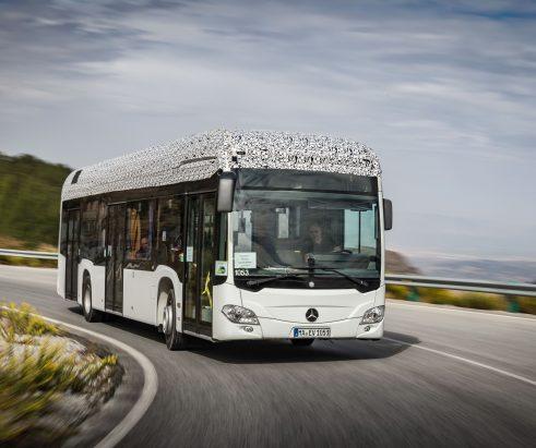 Endlich stromert ein deutscher Stadtbus –Das erste voll elektrische Daimler-Fahrzeug für den Nahverkehr ist in Sicht