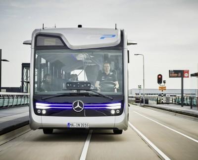 Die Weltpremiere eines zukunftsträchtigen Busses von Daimler – Eine Fahrt mit dem Future Bus von Mercedes-Benz bei Amsterdam