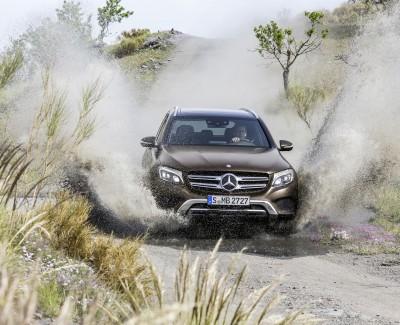 GLC ist der weicher gezeichnete GLK-Nachfolger – Mercedes-Benz bringt das Fahrzeug mit dem ganz neuen SUV-Design der Marke