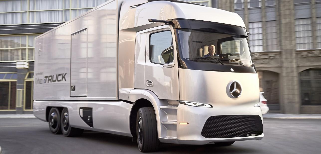 Weltweit erste leichte und schwere Lkw mit Elektroantrieb – Daimler präsentierte die neuen Fahrzeuge auf der IAA Nutzfahrzeuge in Hannover