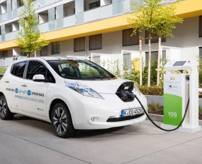 E-Mobility mischt den Markt auf – Fahrer von Nissan-E-Mobilen können die Autobatterie als Pufferspeicher nutzen
