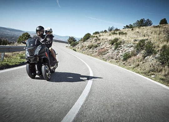 Ein Dreirad-Motorroller von Peugeot – Der Peugeot Metropolis RX-R