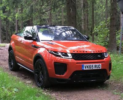 Süße Cabrio-Tour in Oranje durch das grüne Sauerland – Das neue Range Rover Evoque Cabriolet