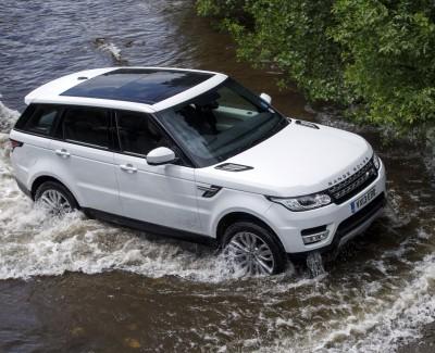 Coole Optik, neue Technik – Der Range Rover Sport Diesel ist sowohl schnell als auch komfortabel
