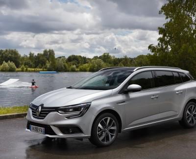 Renault Mégane gefällt auch mit Kombi-Heck – Den Mégane Grandtour gibt es auch mit Allradlenkung