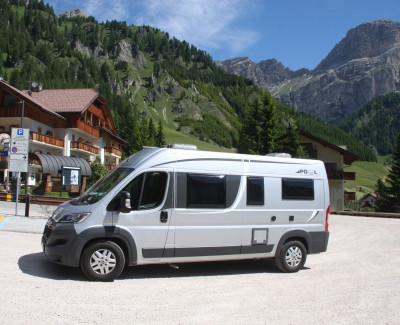 Freiheit im Haus auf Rädern – Mit Caravan oder Reisemobil auf eigene Faust durch Südtirol