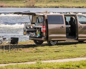 Campen mit dem Proace Verso von Toyota